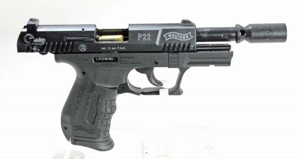 Walther P22 Sicherheitsset mit Pfefferspray