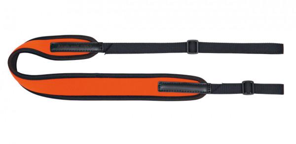 AKAH Gewehrriemen Universal NEOPREN mit Gurtband orange 55 mm
