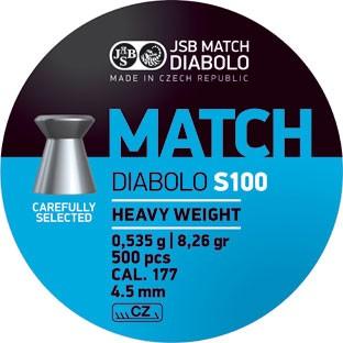 JSB DIAB. MATCH S 4,50MM A500