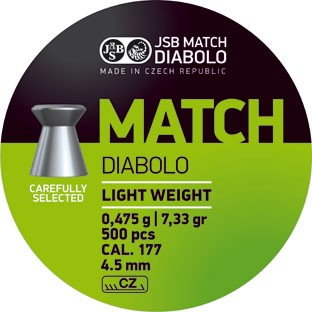 JSB DIAB. MATCH L 4,49MM A500