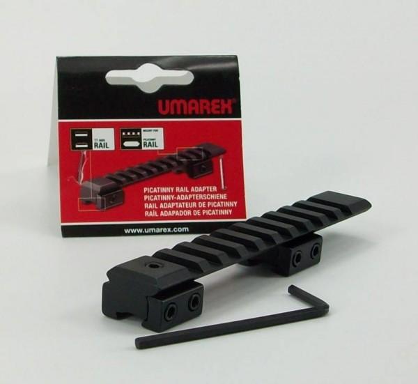 Picatinnyprofil für 11mm Montage Luftgewehr