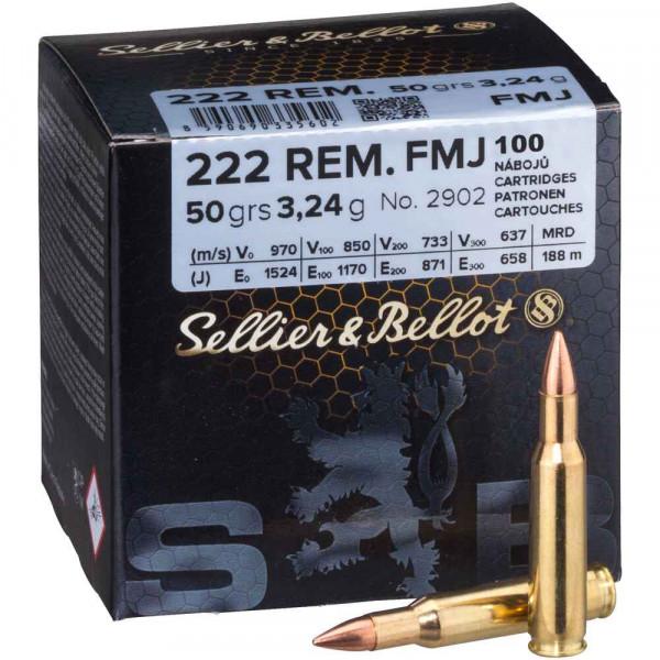 S&B 222 Rem. VM 100 stck / Pack