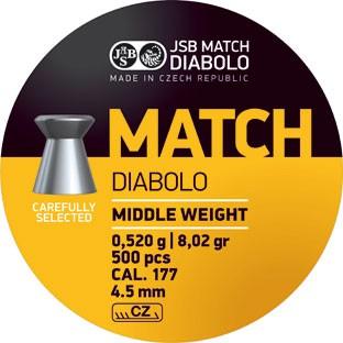 JSB DIAB. MATCH M 4,49MM A500