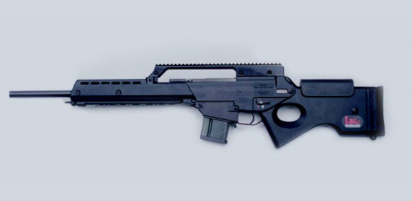 HK SL 8-5 schwarz .223 REM
