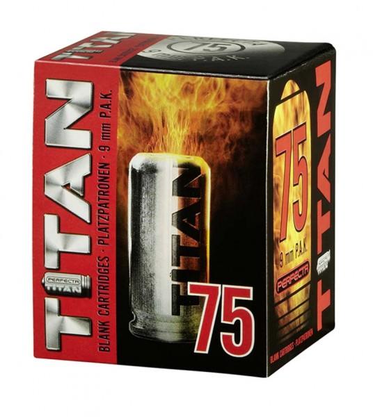 Titan 9mm PAK Platzpatronen - Knallpatronen 75 Schuss