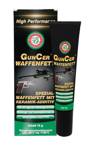 GUNCER Waffenfett 10 ml. Tube