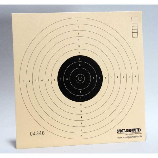 Zielscheiben 17 x 17 cm