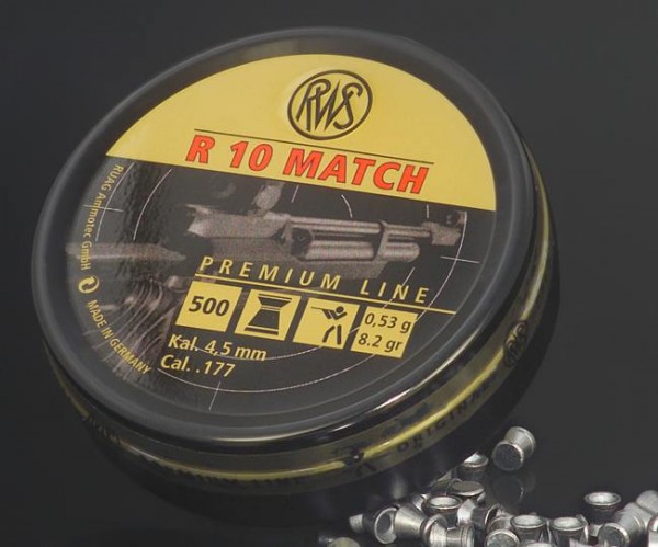 Diabolo R10 RWS Match 0,53gr 4,49mm