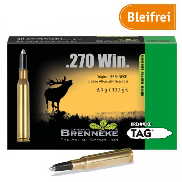 BRENNEKE .270 Win. TAG Jagdmunition