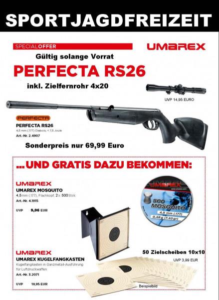 Luftgewehrset Perfecta Mod. RS26