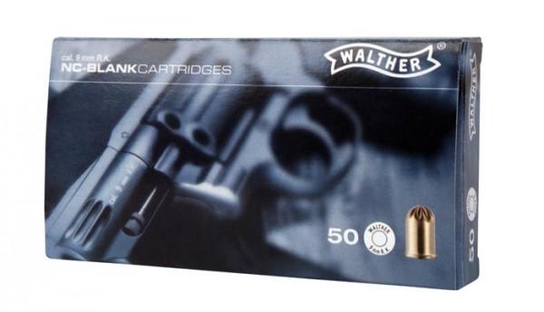 Walther Platzpatronen für Revolver 9 mm 50 Schuss