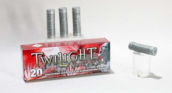 Twilight Silver Circle Pyropatronen 20 Stück