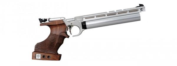 Steyr Luftpistole EVO 10 Silber rechts Griff Xsmall