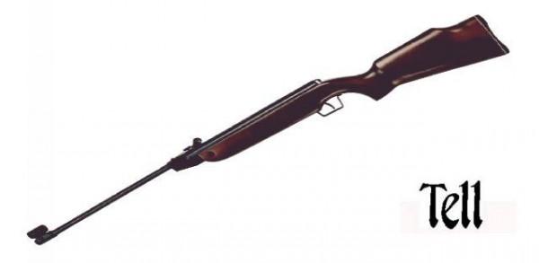 TELL Luftgewehr 220 Kal. 4,5mm