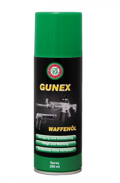 GUNEX Waffenöl Spray 200 ml
