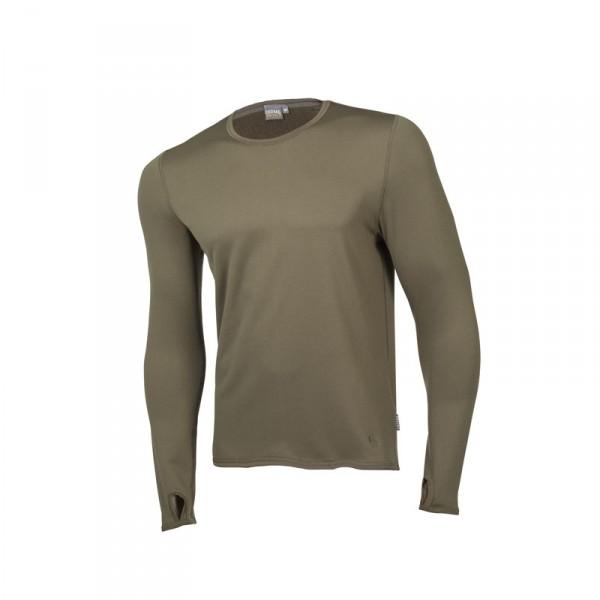"Ceceba Langarm-Unterhemd oliv ""Thermal Control"" XL"