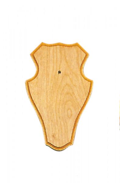 Gehörnbretter für Rehwild, 22x13 cm hell