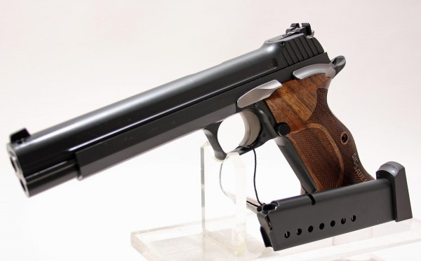 Sig Sauer P210 Super Target Black