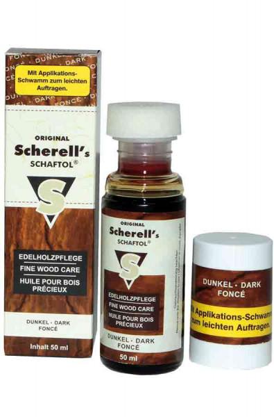 Original Scherell´s SCHAFTOL 50 ml dunkel