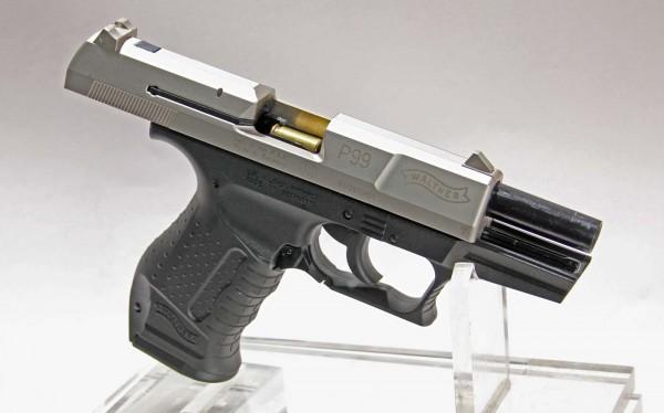 Walther P99 Gaspistole nickel