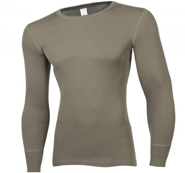Ceceba Langarm- Unterhemd oliv Dunova Gr M