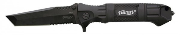 Walther Black Tanto Knife / Messer