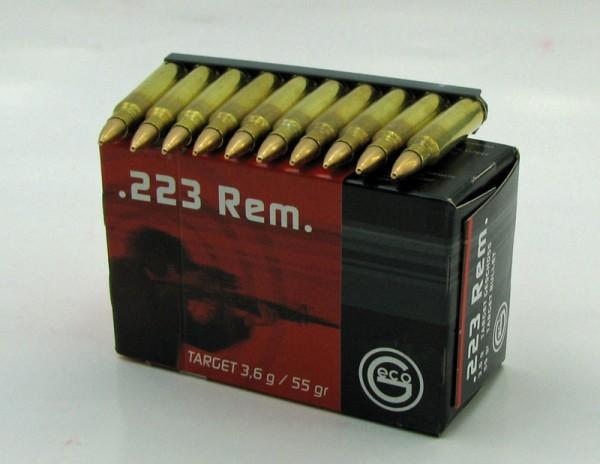 GECO 223 Rem Vollmantel per 50 stck / Pack