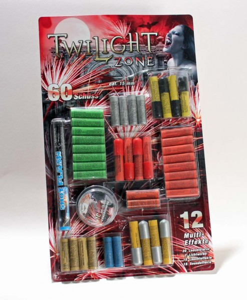 Twilight Zone 60 teiliges Set Pyropatronen