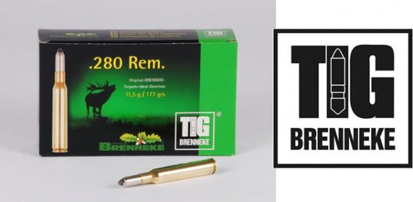 BRENNEKE.280REM. TIG 11,5G Munition
