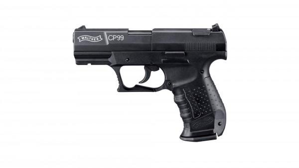 Walther CP99 Luftpistole Co2 brüniert