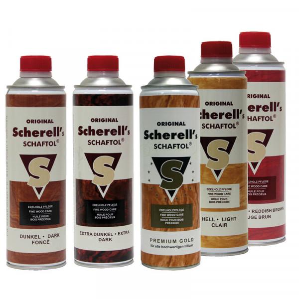 Original Scherell´s SCHAFTOL 500 ml dunkel