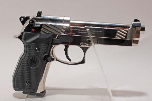 Beretta M 92 FS Luftpistole polish chrome