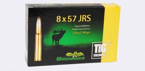 BRENNEKE 8x57 IRS TIG 12,8g Munition