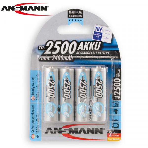 ANSMANN Akkus Typ 2500