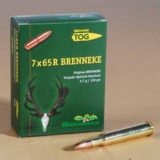 BRENNEKE 7 x 65 R TOG (9,7 g 150 grs)