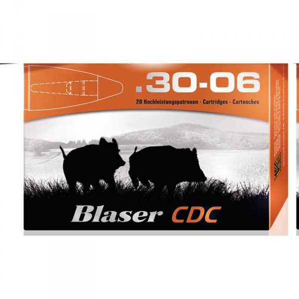 Blaser CDC .30.06 bleifreie Munition 10,4 gr.