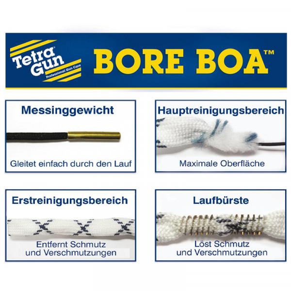TETRA GUN Bore Boa™ Lauf-Reinigungsschnur für Kurzwaffen Kal. 9mm/.357/.38