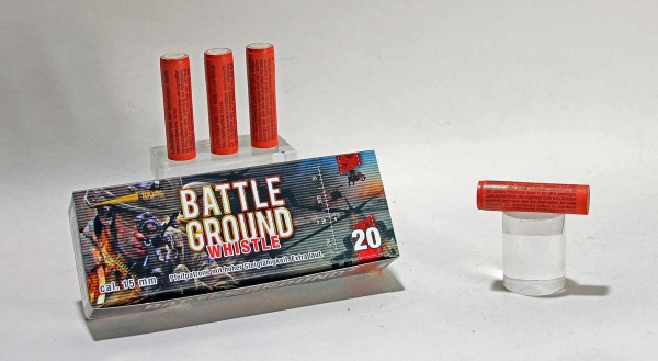 Battle Ground Whistle Pyropatronen 20 Stück