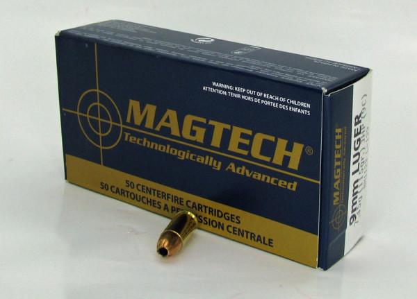 Mag Tech 9mm Luger JHP 115 grs 50 Schuss