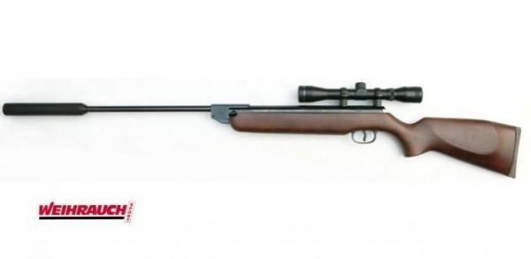 Weihrauch Luftgewehr HW 50 M2 4,5mm ZFR.4X32+SD