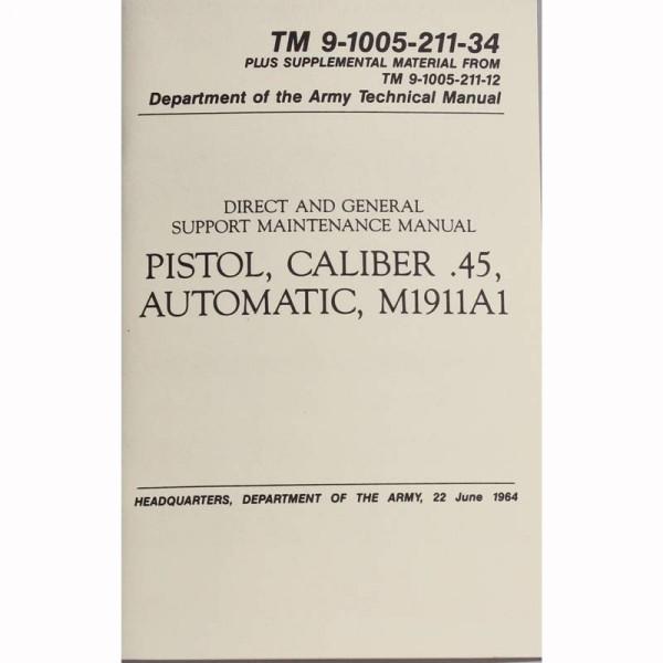 US Handbuch Colt Government