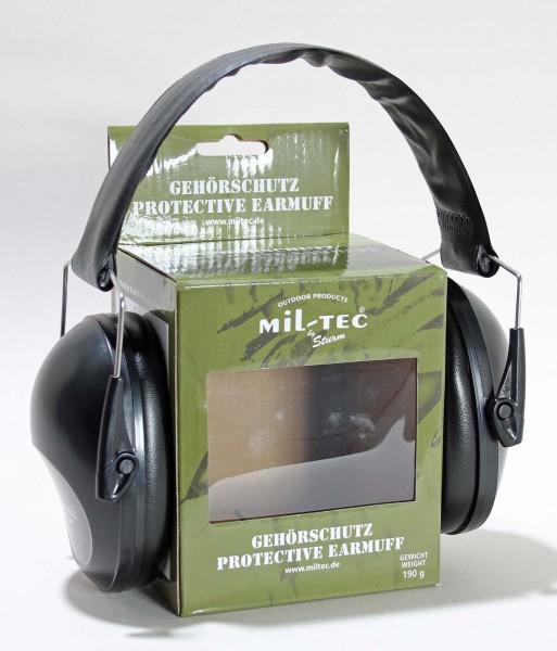 Gehörschutz schwarz