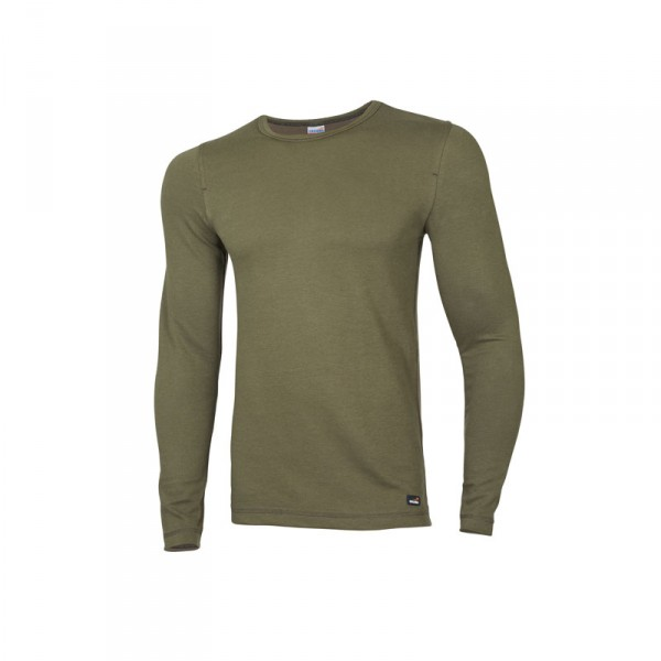 "Ceceba Langarm-Unterhemd oliv ""Thermo Function"" L"
