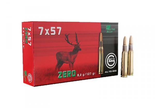 Patronen 7X57 GECO ZERO 8,2 gr.