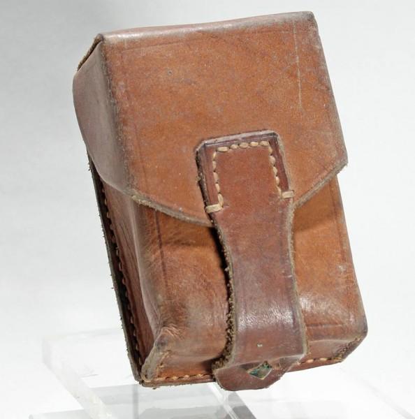 Serbische K98 Patronentasche Leder