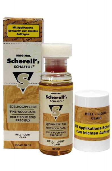 Original Scherell´s SCHAFTOL 50 ml hell