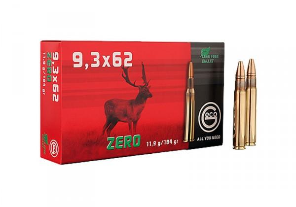 Patronen 9,3X62 GECO ZERO 11,9 gr.