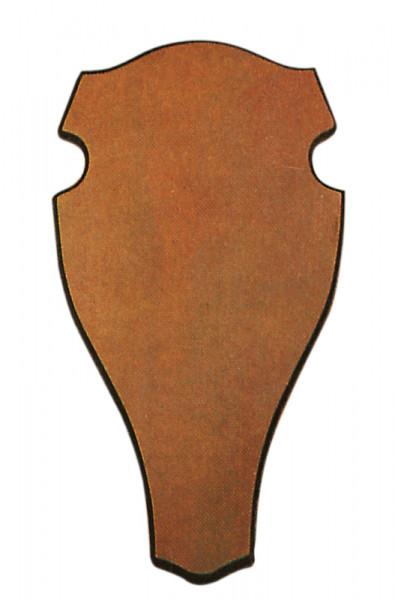 Geweihbrett für Rot- u. Damhirsch 53x28 dunkel
