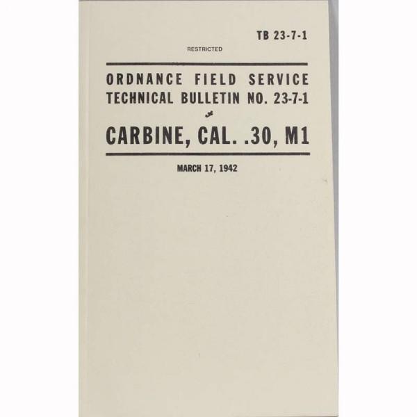 Handbuch US Carabiner 30M1