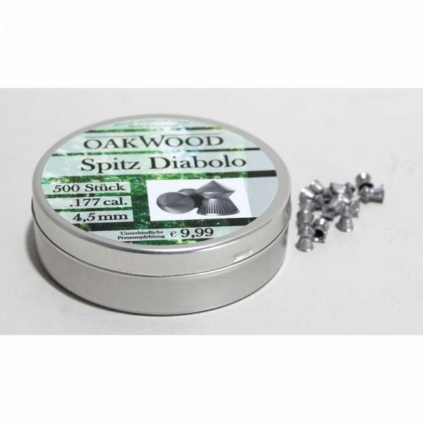 Diabolo spitz 4,5 mm Oakwood